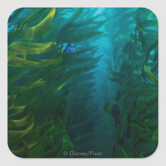 Finding Dory | Hide and Seek - Sea Kelp Square Sticker