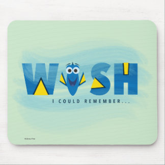 Finding Dory| I Wish I Could Remember 2 Mouse Pad