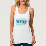 Finding Dory| I Wish I Could Remember Flowy Racerback Tank Top