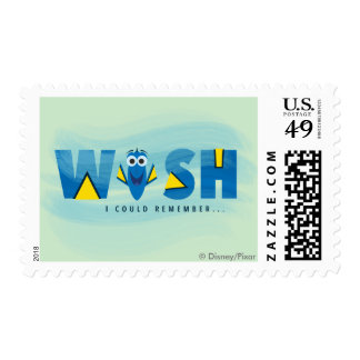 Finding Dory| I Wish I Could Remember Postage
