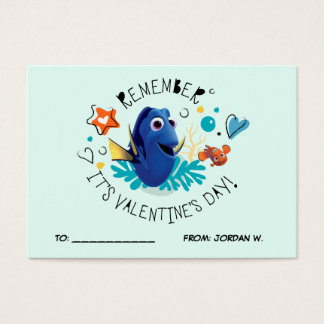 Finding Dory | It's Valentine's Day 100pk Card