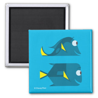 Finding Dory | Jenny and Charlie 2 Inch Square Magnet