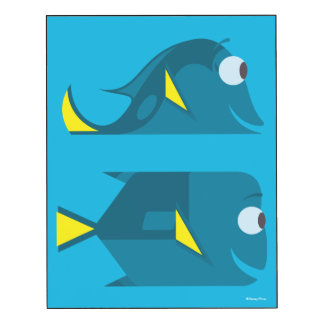 Finding Dory | Jenny and Charlie Wood Wall Art