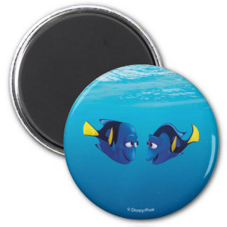 Finding Dory | Jenny & Charlie 2 Inch Round Magnet