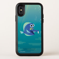 OtterBox Apple iPhone X Symmetry Case with Disney Character Letters Logo design