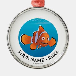 Finding Dory | Marlin Add Your Name Metal Ornament
