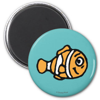 Finding Dory | Marlin Cartoon 2 Inch Round Magnet