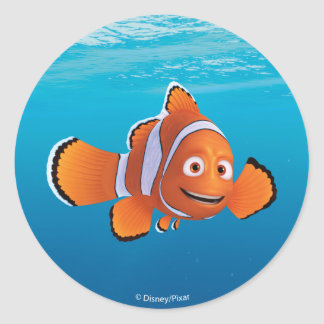 Finding Dory Marlin Classic Round Sticker