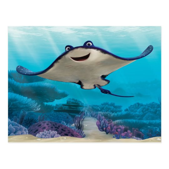 Finding Nemo Characters Mr Ray Finding Dory | ...