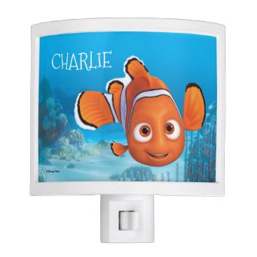 Disney Themed Finding Dory Nemo - Add Your Name Night Light