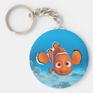 Finding Dory Nemo Basic Round Button Keychain