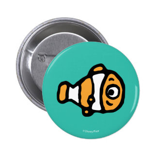 Finding Dory   Nemo Cartoon Button