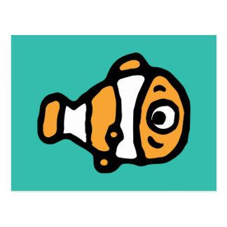 Finding Dory | Nemo Cartoon Postcard
