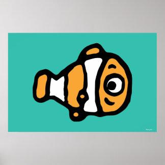 Finding Dory   Nemo Cartoon Poster