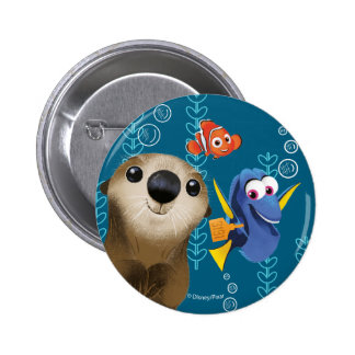 Finding Dory | Nemo, Dory & Otter Button