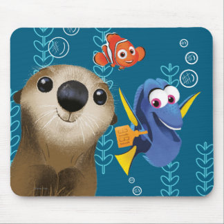 Finding Dory | Nemo, Dory & Otter Mouse Pad