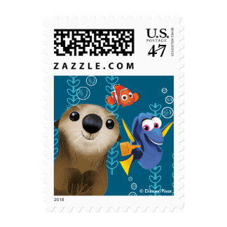 Finding Dory | Nemo, Dory & Otter Postage Stamp