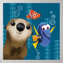 Finding Dory | Nemo, Dory & Otter Poster