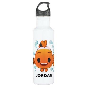 Disney Themed Finding Dory | Nemo Emoji Stainless Steel Water Bottle