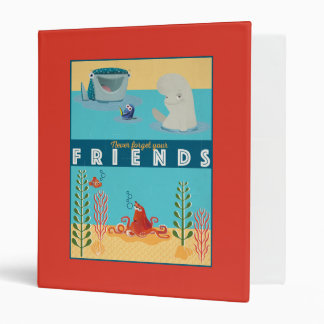 Finding Dory | Never Forget Your Friends 3 Ring Binder