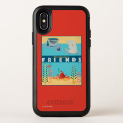 OtterBox Apple iPhone X Symmetry Case with Dusty Crophopper Race To The Rescue design