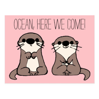 Finding Dory | Otter Cartoon Postcard