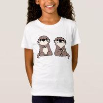 Finding Dory | Otter Cartoon T-Shirt
