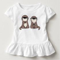 Finding Dory | Otter Cartoon Toddler T-shirt