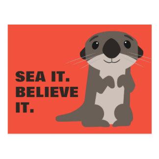 Finding Dory   Otter Postcard