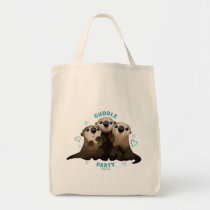 Finding Dory Otters   Cuddle Party 2 Tote Bag