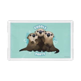 Finding Dory Otters | Cuddle Party Acrylic Tray