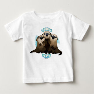 Finding Dory Otters   Cuddle Party Baby T-Shirt