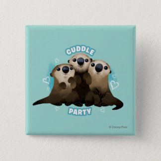 Finding Dory Otters | Cuddle Party Button