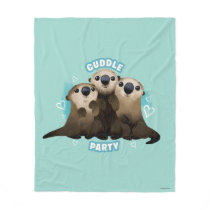 Finding Dory Otters | Cuddle Party Fleece Blanket