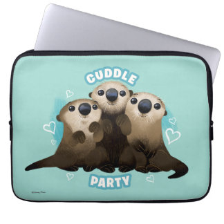 Finding Dory Otters | Cuddle Party Laptop Sleeve