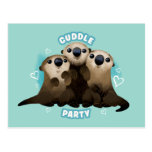 Finding Dory Otters   Cuddle Party Postcard
