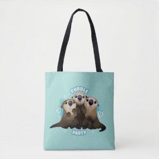 Finding Dory Otters | Cuddle Party Tote Bag