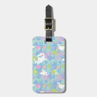 Finding Dory Pastel Sea Pattern Luggage Tag