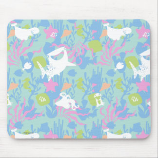 Finding Dory Pastel Sea Pattern Mouse Pad