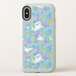 Finding Dory Pastel Sea Pattern OtterBox Symmetry iPhone X Case