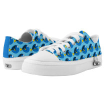 Finding Dory Pattern Low-Top Sneakers