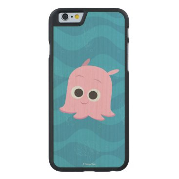 Disney Themed Finding Dory | Pearl Carved Maple iPhone 6 Slim Case