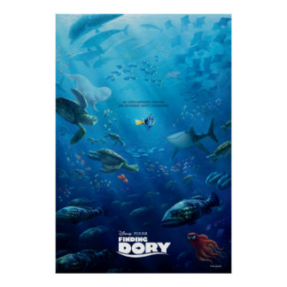 Finding Dory | Poster Art