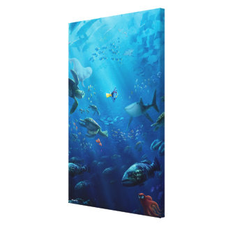 Finding Dory | Poster Art Canvas Print