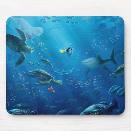 Finding Dory   Poster Art Mouse Pad