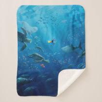 Finding Dory | Poster Art Sherpa Blanket