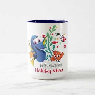 Finding Dory | Remembering Holiday Cheer Two-Tone Coffee Mug