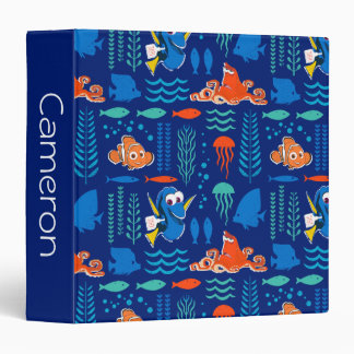 Finding Dory Sea Pattern 3 Ring Binder