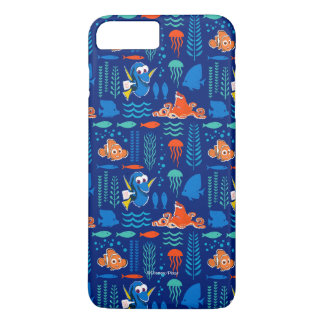 Finding Dory Sea Pattern iPhone 8 Plus/7 Plus Case