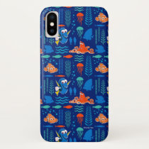 Finding Dory Sea Pattern iPhone X Case